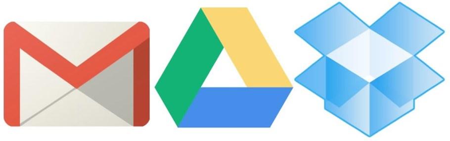 gmail-drive-dropbox