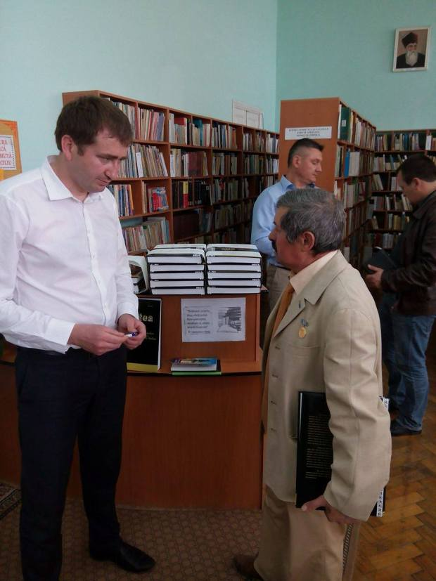 Denis Rosca si Andrei Calcea