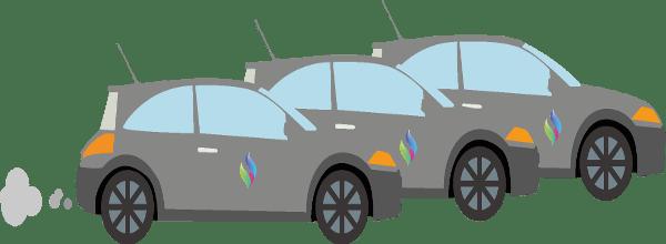 Taxe sur les vehicules de société