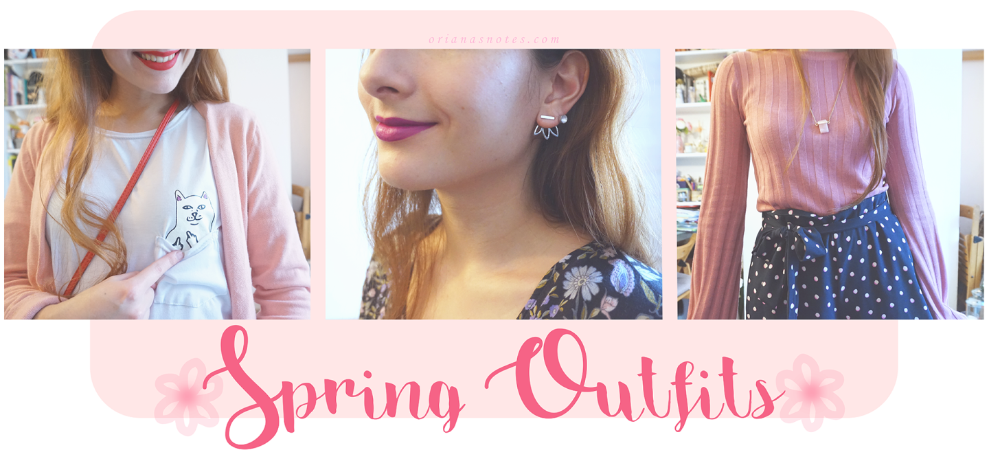 Style – 3 Spring Outfit Ideas