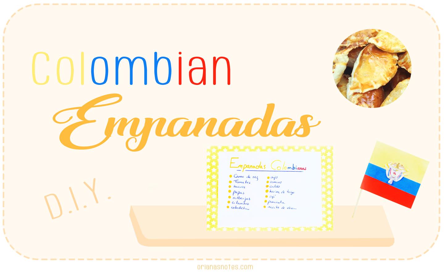 DIY – Colombian Empanadas Recipe