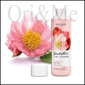 2-in-1 Cleanser Wild Rose