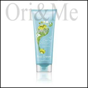 Feet Up Cooling Breeze Mint & Kiwi Foot Cream