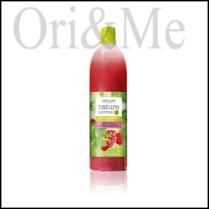 Nature Secrets Exfoliating Shower Gel with Energising Mint & Raspberry