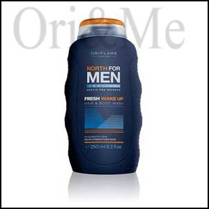 North For Men Fresh Wake Up Hair & Body Wash