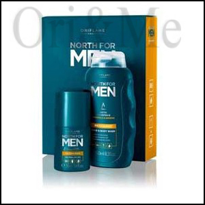 North for Men Recharge Gift Set