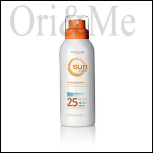 Sun Zone Light Body Spray SPF 25 Medium