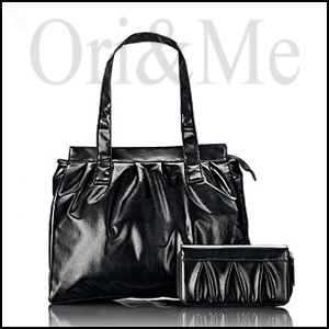 Chic Black Bag and Pouch