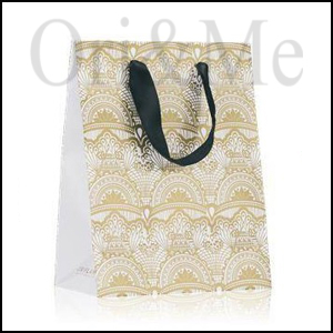 Jovial Gift Bag Gold