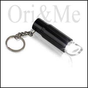 LED flashlight, Keyring with Bottle Opener