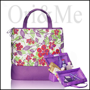 Optimals Floral Toiletry Bag