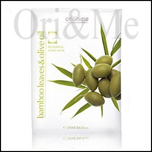 Bamboo Leaves & Olive Oil Repairing Hair Mask