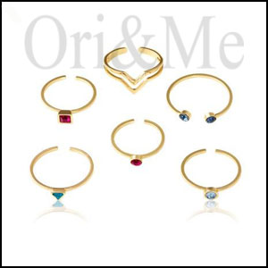 Aruba Mixed Ring Set