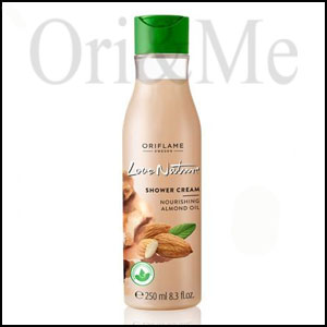 Love Nature Shower Gel with Nourishing Almond Oil