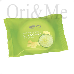 Soap Bar with energizing Lime & Ginger