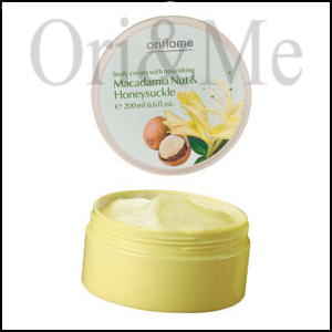 Body Cream with Nourishing Macadamia Nut & Honeysuckle