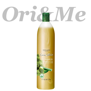 LOVE NATURE Shower Gel Caring Olive Oil & Aloe Vera