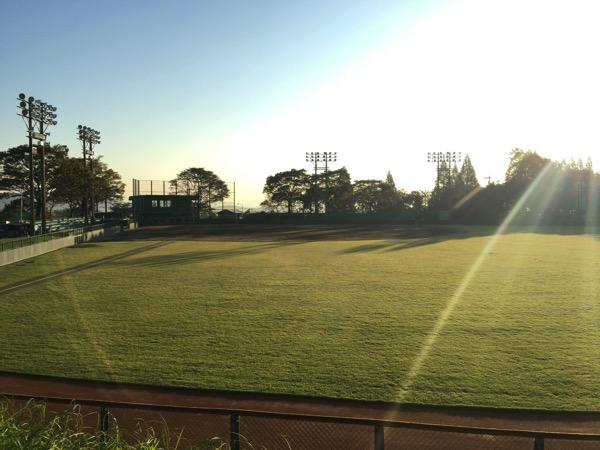 岐阜県垂井町の朝倉運動公園野球場