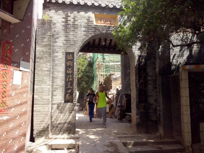 Sydkinesiska byar ger spännande orienteringsuppmaningar, liksom den här nära Guangzhou (Kanton)