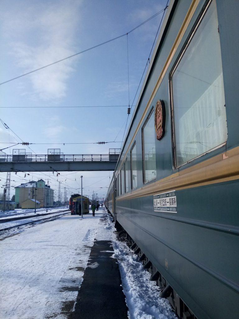 Transsibiriska järnvägen förbinder Europa med Ostasien.