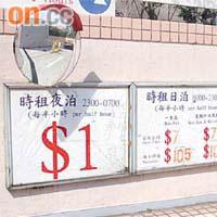 探射燈:康文署停車場逆市搶錢 - 東方日報