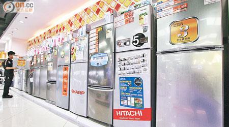 同屬「一級」雪櫃 耗電差成倍 - 東方日報