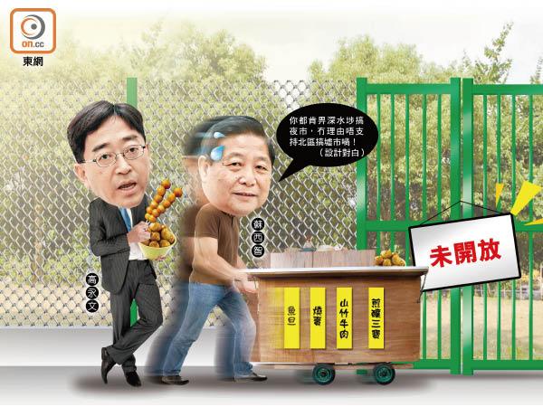 政情:北區有墟可行 食衞局懶懶閒 - 東方日報