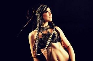 Tribal belly danc i american tribal style