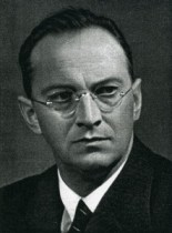 Konrad Henlein, leader of the Sudeten German Party