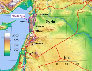 Alawite-map1