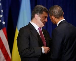 Petro Poroshenko serving as the US insider even in the presidential position.