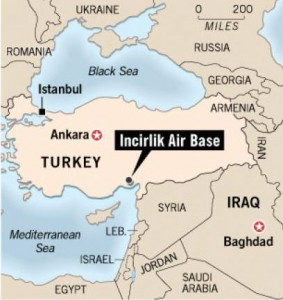 As knowledgeable members of the Iraqi government of Prime Minister Nouri Al-Maliki have admitted, one of the ISIS training camps was located near İncirlik Hava Üssü, a large American air base near the Turkish city of Adana.