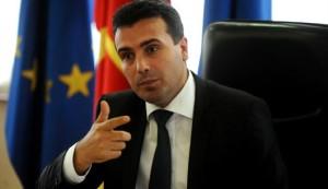 Macedonia's pro-Atlantic opposition leader Zozan Zaev