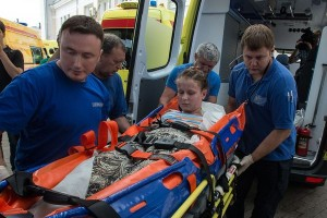 Dr. Elizaveta Glinka organized a number of medical transfers of Donbass children to Moscow