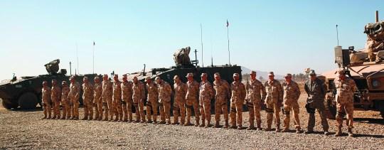 Slovenian servicemen serve the U.S. interests in Gerat province, Afghanistan, 2010.