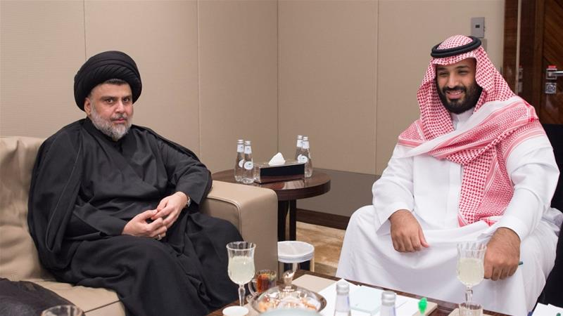Iraq's Muqtada al-Sadr makes rare Saudi visit, Jul 2017
