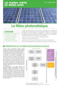 filiére photovoltaique