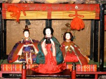The Imperial Couple with Senior Lady in Waiting