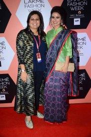 Swati Vijaivargie with Rasika Dugal