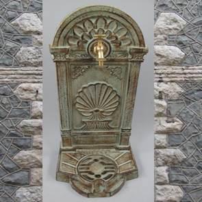 326.073GR 2 - Stehbrunnen Gußeisen farbig (Ornamente)