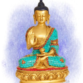 Buddha Amoghasiddhi Türkis - Buddha Amoghasiddhi Türkis