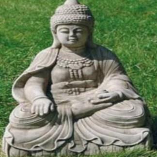 Buddha sitzend mittel