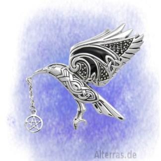 Anhänger Machas Rabe aus 925-Silber