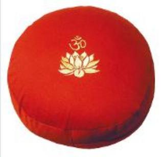 Meditationskissen Lotus Om rot
