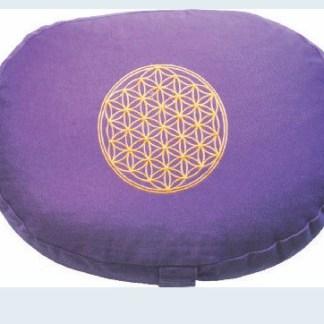 Meditationskissen mit Inlet BDL rund lila
