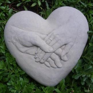 Herz Händepaar
