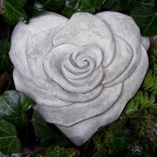 Herz Rosenblüte