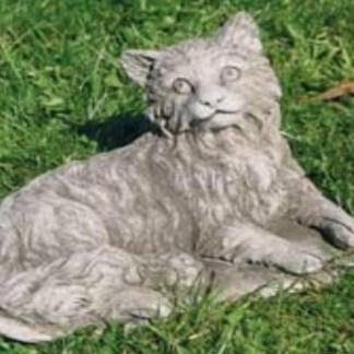 Katze liegend - Katze liegend