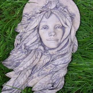 Relief Elfenkönigin Elfenkopf wandhängend