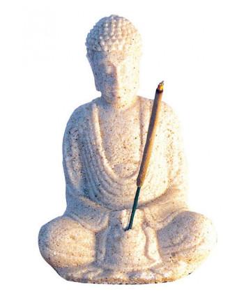 Buddha in Meditation Sandstein natur 10cm2